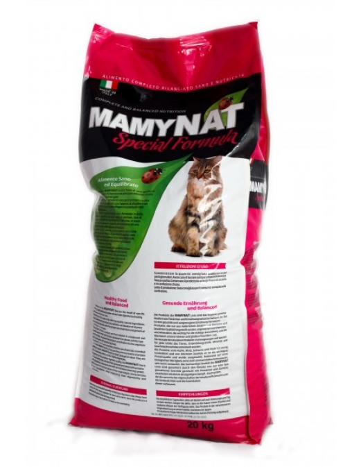 2.1 MamyNAT Cat Adult: Говядина. Для взрослых кошек
