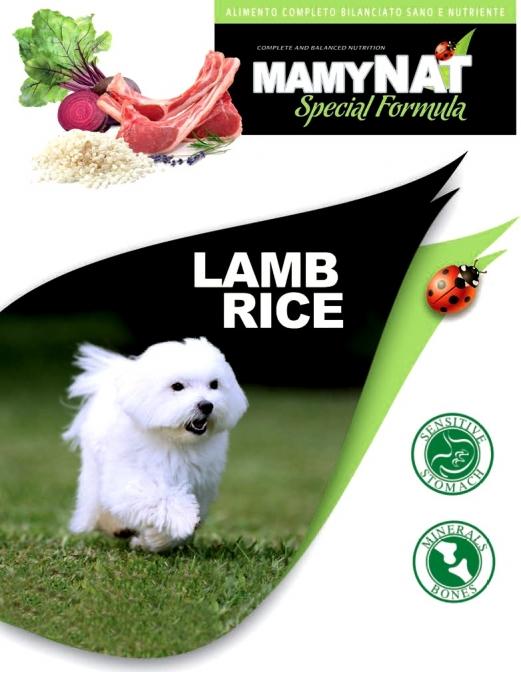 1.4 MamyNAT Lamb & Rice. Для собак с чувствительным пищеварением